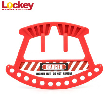Hand Carring Nylon Safety Lockout Padlock Rack